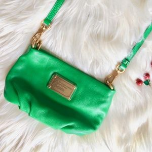 RARE Marc by Marc Jacobs Bright Kelly Green Percy